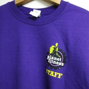 Planet fitness staff Purple sweatshirt S